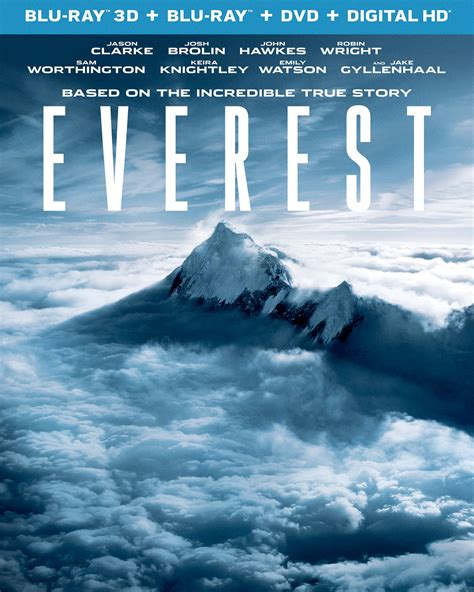 film everest in dvd everest dvd release date january 19 2016