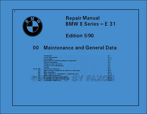 1992 bmw 850 i owners electrical service manual e31 parts 1991 8 series e 31 ebay 1992 bmw 850i electrical troubleshooting manual reprint