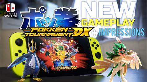 Nintendo Switch Pokken Tournament Dx pokken tournament dx on nintendo switch new gameplay