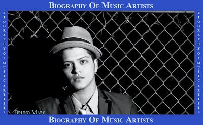 small biography of bruno mars biography of bruno mars for california college students