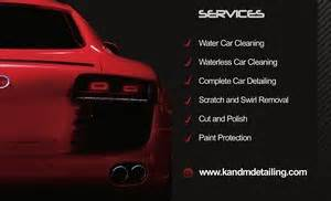 car detailing business card template k m mobile car detailing in ballajura perth wa car wash