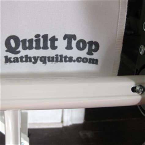 How To Make Cloth Leaders For Quilt Frame by Machine Quilter Juki Tl 2200qvp Quilt Virtuoso Pro Cloth