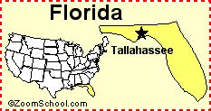 florida state capitol map f geography enchantedlearning