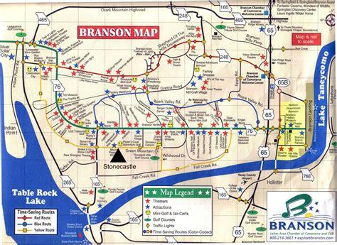 missouri map branson branson castle inn