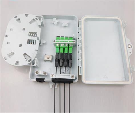 Roset 4 Adapter Sc Ftth Fiber Optical Terminal Box Otb Fo Optik 1 ftth04b 4 fiber mini ftth terminal boxes
