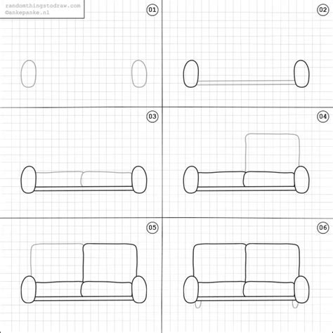 how to draw a 3d sofa 25 best ideas about random things to draw on pinterest