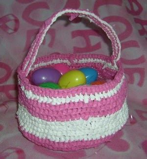 thoughts from a screen: plarn easter basket free pattern