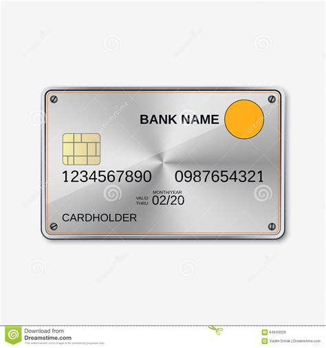 Credit Card Design Html Template bank card credit card design template stock vector
