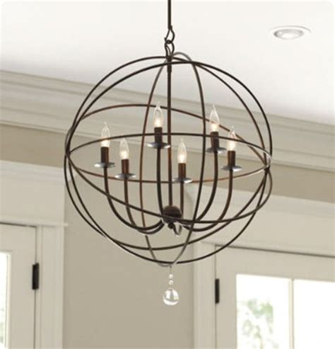Orb Chandelier Dining Room Diy Orb Chandelier From Kristen At My Covered Bridge