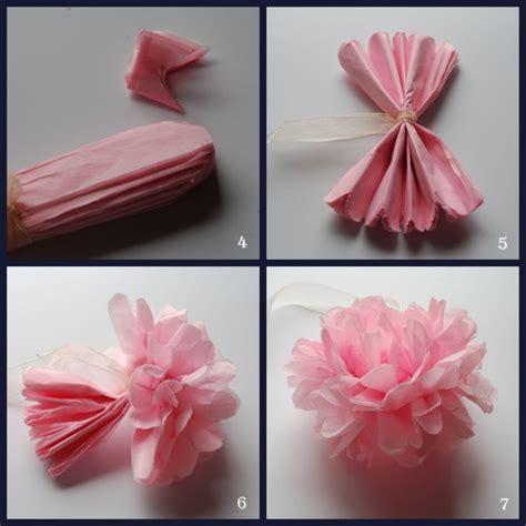 flores en papel seda paso a paso c 243 mo hacer flores manualidades para hacer flores