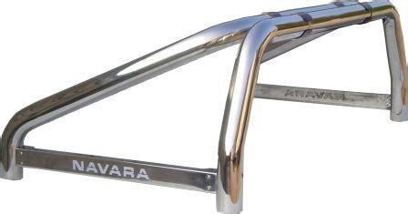 futon rollbar nissan navara 05 styling roll bar 76mm on bed rail
