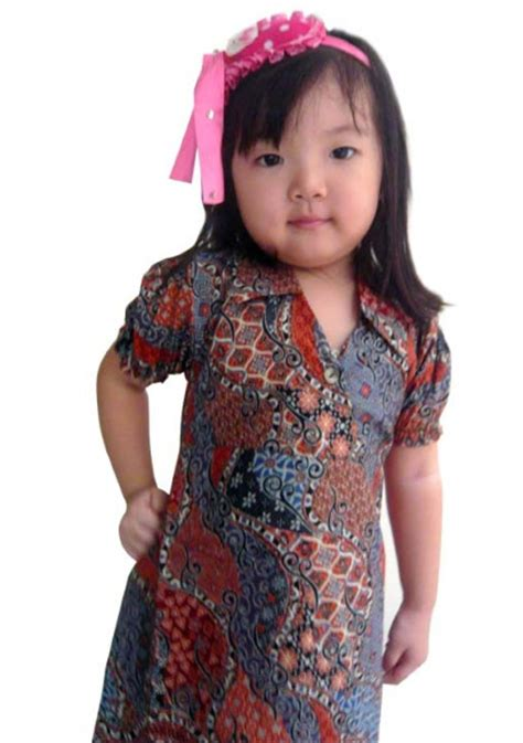 Dress Batik Keris Anak No 4 model baju anak auto design tech
