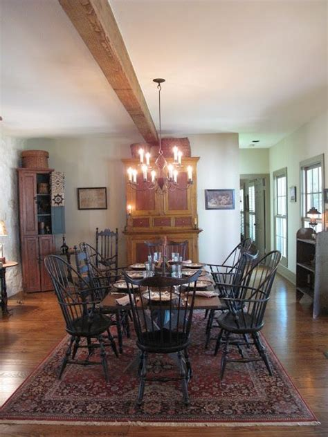 hill country dining room hill country house antiques colonial style pinterest