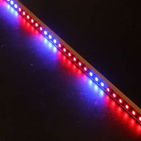 10pcs 0 5m 27red 9blue 12v Led10w Grow Light Bars Light Led Grow Light Strips