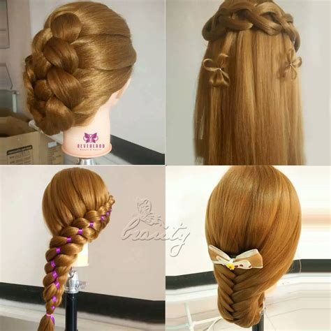 mannequin head to practice braiding in st louis cosmetology training practice head 26 quot long 100 real