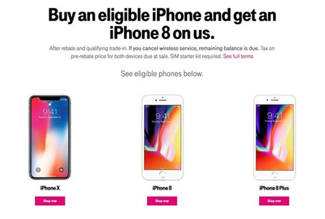 t mobile announces bogo deal for iphone 8 or 700 second iphone x iclarified