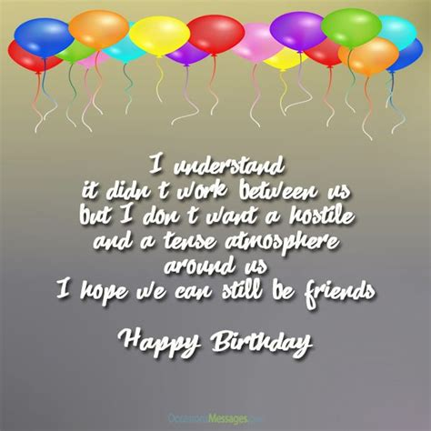 Should I Wish My Ex A Happy Birthday Birthday Wishes For Ex Boyfriend Occasions Messages