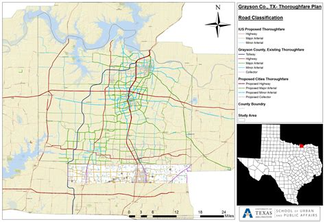 grayson county texas map grayson county tollway study
