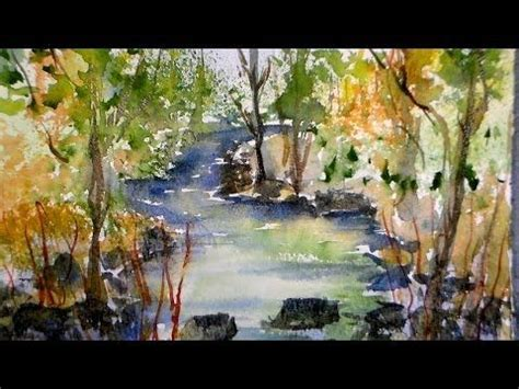 watercolor tutorial frugal crafter the frugal crafter watercolor tutorials on youtube