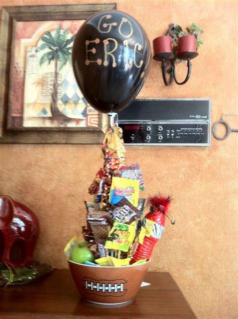 high school boy christmas ideas football player gifts football and cheer on