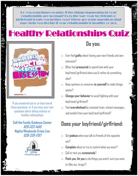 printable relationship quizzes for couples healthy relationship quotes for teens quotesgram