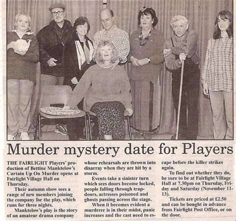 curtain up on murder fairlight players archive