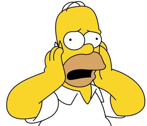 homer simpson head in hands google search worried