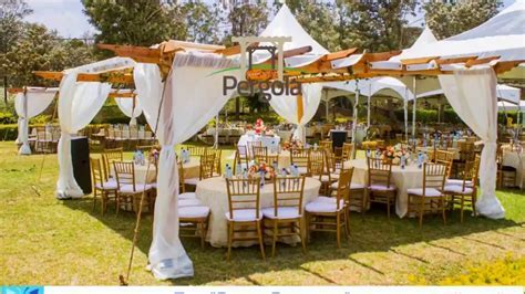 Linens And Decor Kenya Party Pergola Wedding Tents 2   YouTube