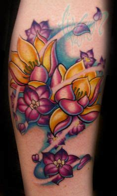 koi tattoo edmonton after purple water lily photos from jake partin tattoos by