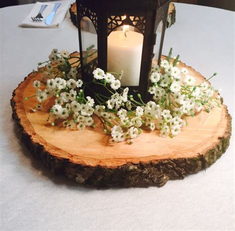 7 inspiring wood centerpieces for weddings emmaline