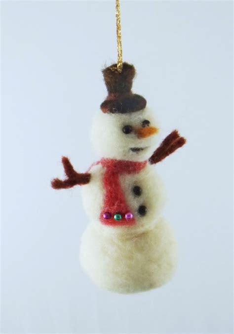 unique needle felted christmas ornaments living felt blog