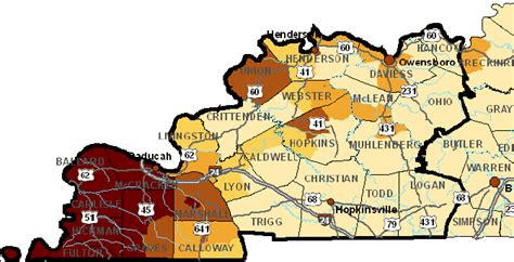 kentucky map with time zones earthquake possibility new madrid zone 7 7 magnitude fema