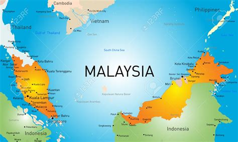 map of malaysia malaysia travel
