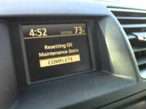 How To Reset Toyota Highlander Maintenance Light How To Reset Maintenance Light Toyota Highlander Li