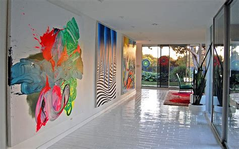 graffiti interiors home art murals and decor ideas