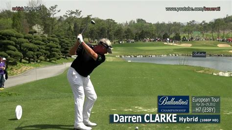 darren clarke golf swing 1080p hd darren clarke 2012 hybrid golf swing 3