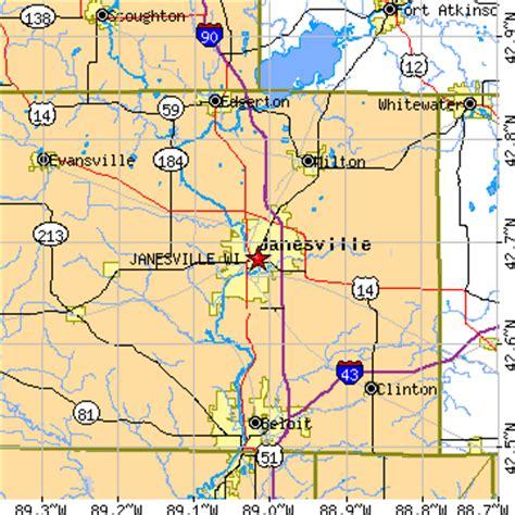 zip code map janesville wi janesville wisconsin wi population data races