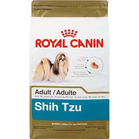 shih tzu food list royal canin shih tzu food 10 pound bag new free shipping ebay