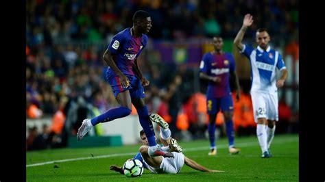 ousmane dembele highlights 2017 ousmane dembele vs espanyol full highlights analysis