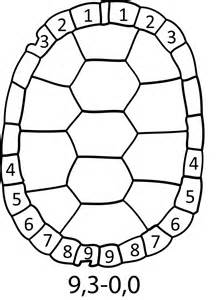 Turtle Shell Template by File Turtle Marking Svg Wikimedia Commons