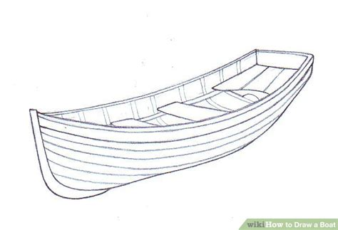 how to draw a boat in perspective how to draw a boat wikihow