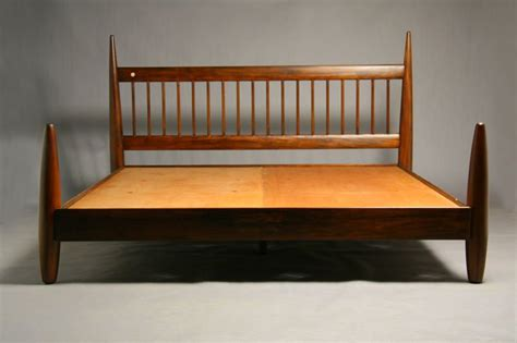 bed frames for king size beds king size wood bed frame by sergio rodrigues at 1stdibs