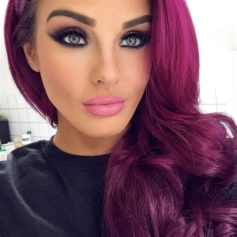 magenta hair color in with magenta hair colors the haircut web