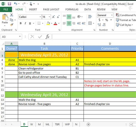 monthly task list template excel to do list spreadsheet free to do list