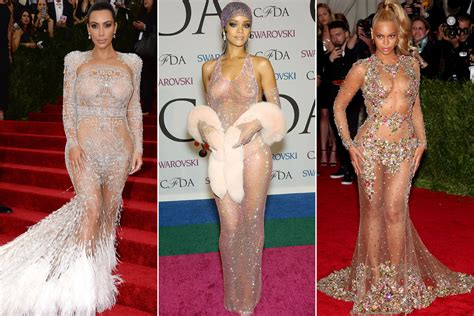 how rihanna s barely there cfda dress launched a style