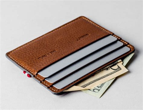 The Cardholder hardgraft 3card cardholder 187 gadget flow