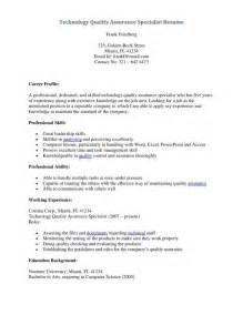 Quality Assurance Sample Resume quality assurance resume sample pdf resume sample resume