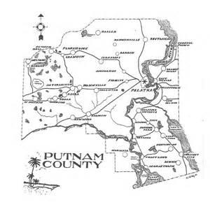 putnam county florida map