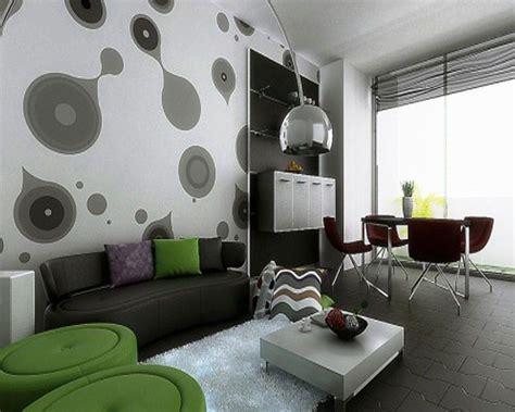 corak wallpaper dinding ruang tamu wallpaper dinding