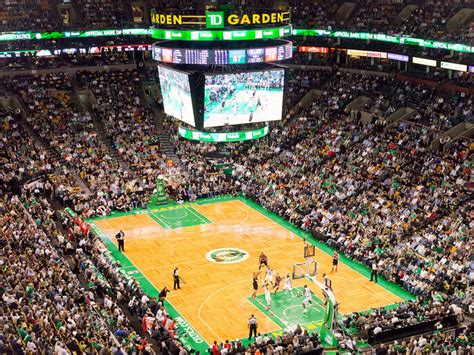 boston garden capacity